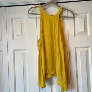 Forever 21 Yellow Trapese Tank